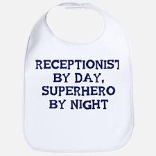 Receptionist by day Bib