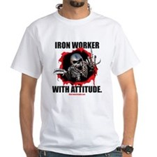 Iron Worker with Attitude Shirt