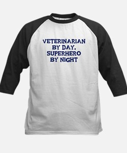 Veterinarian by day Kids Baseball Jersey