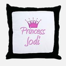 Princess Jodi Throw Pillow