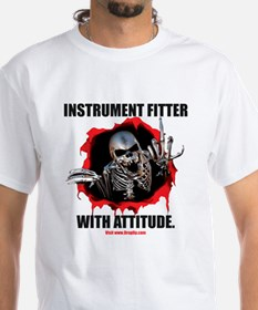 Instrument Fitter with Attitude Shirt
