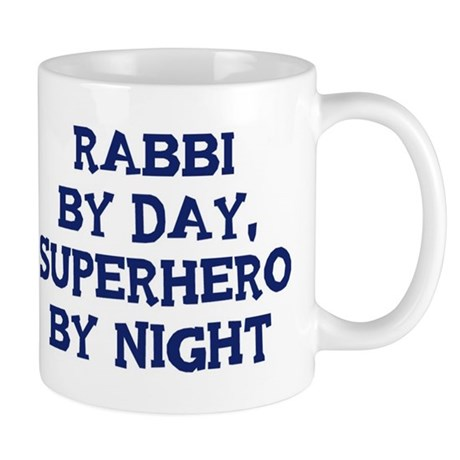 Rabbi by day Mug