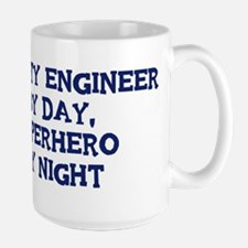 Quality Engineer by day Large Mug