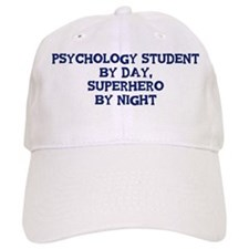 Psychology Student by day Baseball Cap