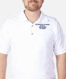 Psychology Student by day Golf Shirt