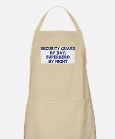Security Guard by day BBQ Apron