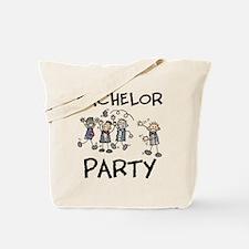 Bachelor Party Tote Bag