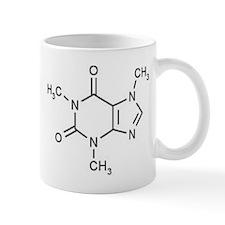 Caffeine Molecule Small Mugs