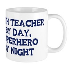 Math Teacher by day Small Mug