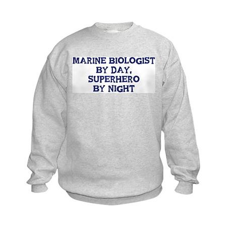Marine Biologist by day Kids Sweatshirt