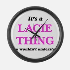 It's a Lacie thing, you would Large Wall Clock