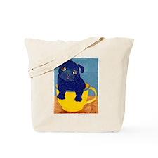 Teacup Pug Tote Bag