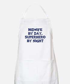 Midwife by day BBQ Apron