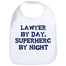 Lawyer by day Bib