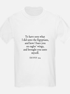 EXODUS  19:4 Kids T-Shirt