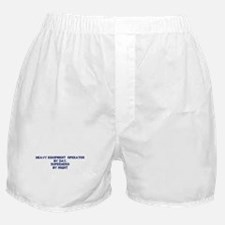 Heavy Equipment Operator by Boxer Shorts