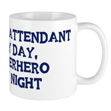 Flight Attendant by day Mug