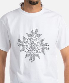 Wheel of Birds Color Your Own Shirt