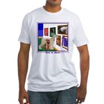 Soft Coated Wheaten Terrier Fitted T-Shirt