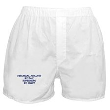 Financial Analyst by day Boxer Shorts