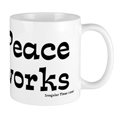 Gecko Peace Works Coffee Mug