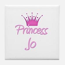 Princess Jo Tile Coaster