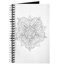 Lace and Faces Color Your Own Journal