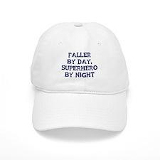 Faller by day Baseball Cap