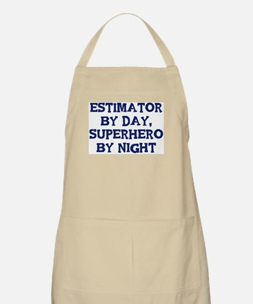 Estimator by day BBQ Apron