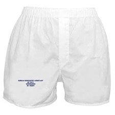 Human Resources Assistant by Boxer Shorts