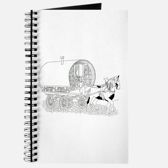 Gypsy Wagon Color Your Own Journal