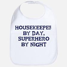 Housekeeper by day Bib