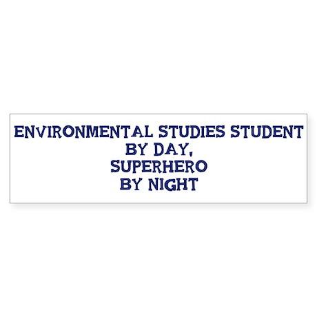 Environmental Studies Student Bumper Sticker