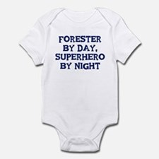 Forester by day Infant Bodysuit