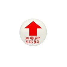 Mediocrity Mini Button (10 pack)