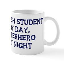 English Student by day Small Mug