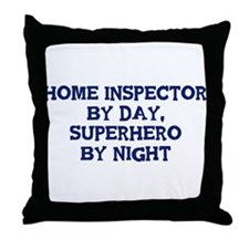 Home Inspector by day Throw Pillow