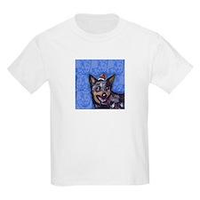 Australian Cattle Dog Christmas Kids T-Shirt