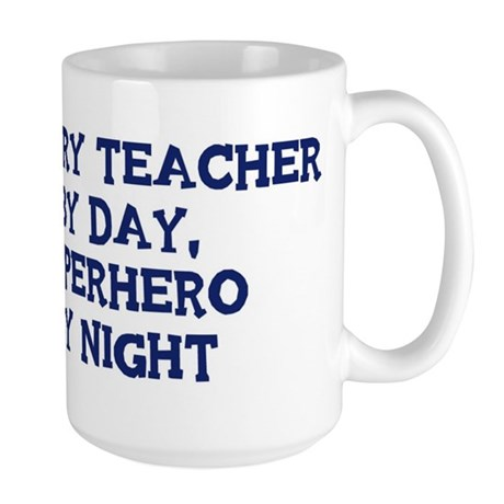 History Teacher by day Large Mug