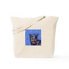 Australian Cattle Dog Christmas Tote Bag