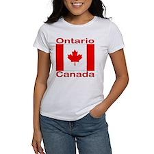 Ontario Flag Canada Tee