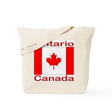 Ontario Flag Canada Tote Bag