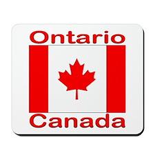 Ontario Flag Canada Mousepad