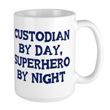 Custodian by day Mug