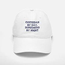 Custodian by day Baseball Baseball Cap