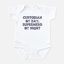 Custodian by day Infant Bodysuit