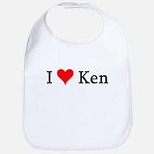 I Love Ken Bib