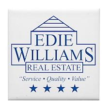 Edie Williams Real Estate Tile Coaster