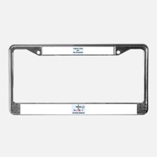 """I agree with Joe """"the Plumber"""" License Plate Frame"""