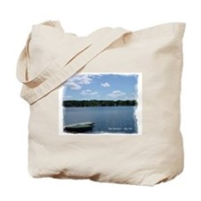 Otis Reservoir Canvas Tote Bag